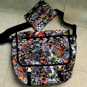 LeSportSac satchel/messenger bag